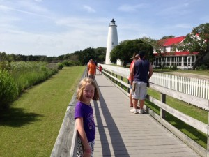 The Ocracoke Lighthouse